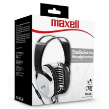 Auriculares On Ear Vincha Ajustable Maxell St-2000 Blanco