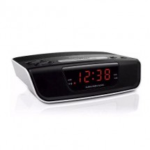 Radio Reloj Despertador Digital Philips Fm Alarma Aj3123/77