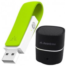 Parlante Bluetooth Portatil Para Pc Avantree Pluto Air +leaf