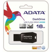 Pendrive 16gb Adata Negro Uv100 Ventas Por Mayor