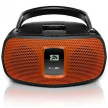 Reproductor De Cd Philips Estereo Usb Mp3 Fm Am Pilas Az391/