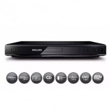 Reproductor De Dvd Philips Cd Usb Mp3 Avi Divx Dvp2850x/77