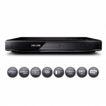 Reproductor De Dvd Philips Cd Usb Mp3 Avi Divx Dvp2880x/77