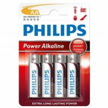 Pila Aaa No Recargable Philips Alcalina 1.5v Blister X4 A002