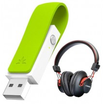 Auriculares Bluetooth Para Pc Avantree Audition + Leaf