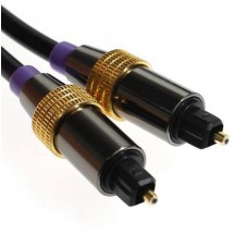 Cable Optico Toslink Audio Digital 2 Mts Metalico Lta041