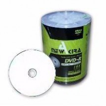 Dvd-r New Akira Full Prntable 16x Bulk X100u Mayoristas