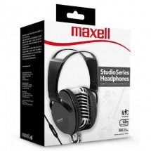 Auriculares On Ear Vincha Ajustable Maxell St-2000 Negro