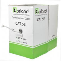 Cable Utp Cat. 5e, 24 Awg, Cca, Solid, Gris 305 Mts Lta001