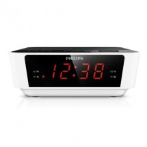 Radio Reloj Despertador Philips Digital Fm Alarma Aj3115/77
