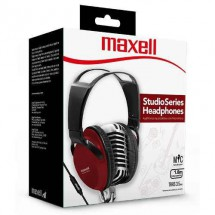 Auriculares On Ear Vincha Ajustable Maxell St-2000 Rojo