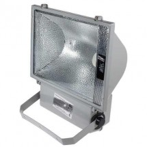 Reflector Exterior Halogeno Reflectores 250w Gris Pack X2
