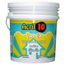 LATEX INTERIOR EXTERIOR ACRIL X20 LITROS