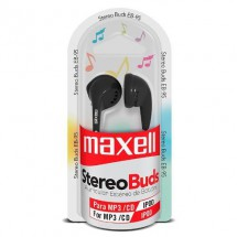 Auriculares In Ear Maxell Eb-mic Microfono Negro