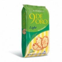 9 De Oro Bizcochitos Light Por Caja