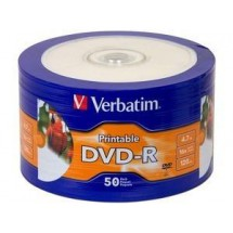 Dvd Verbatim Imprimible Dvd-r 4,7gb K X50u Ventas Por Mayor