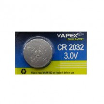 Pila De Litio Cr2032 Vapex 3v 220-225 Mah 20x3,2mm C006