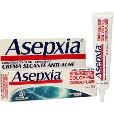 563404989 Crema Asepxia Emergencia Color Piel Antiacné Secante X 28 Gr a $79 ...