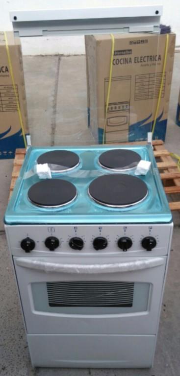 Cocinas Eléctricas Anafe Acero Inoxidable Blancas Importadas