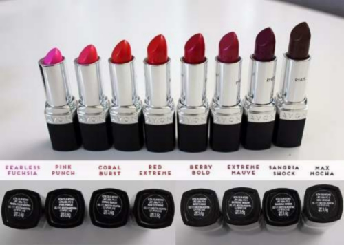 Labiales Ultra Color De Avon.