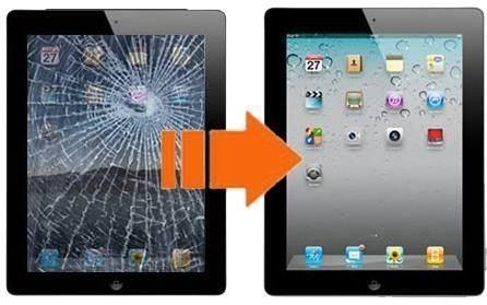 Cambio Vidrio Tactil Ipad 2,3,4  Display Touch En El Dia.