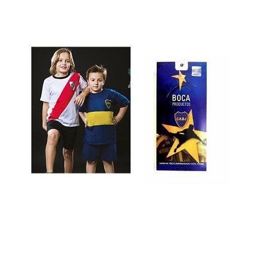 Pijama Club Futbol Boca Juniors Niños Oficial Remera Equipo a  359 ... 8aae7564a29
