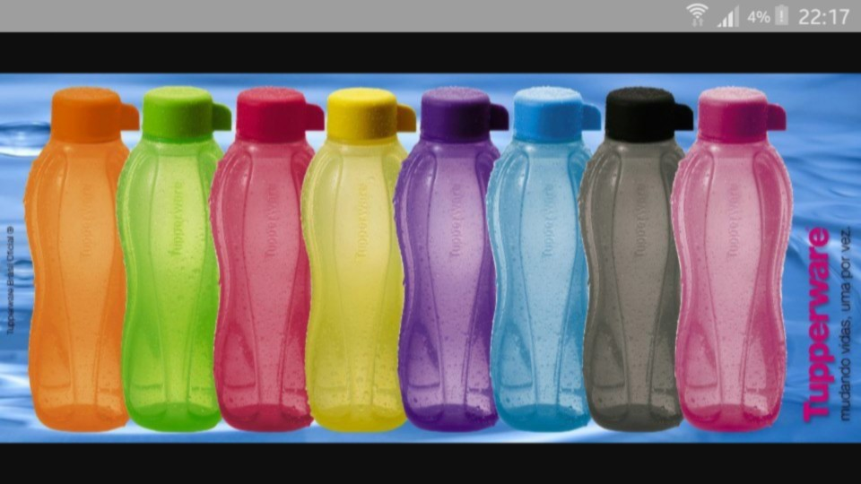 Botellas tupperware eco twist 500 cm3