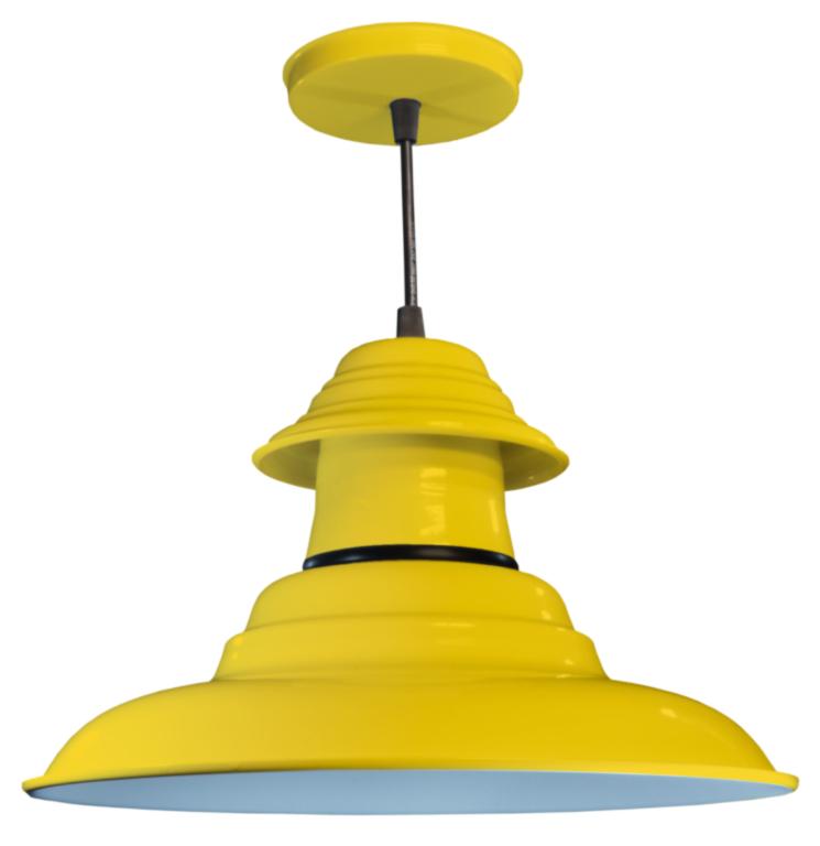 lamparas colgante de techo chapa metal varios colores