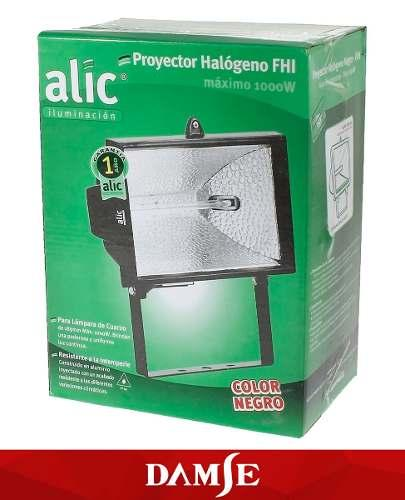 Reflector Exterior Halogeno Reflectores 1000w Pack X12